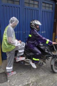 Capas plasticas para motos